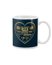 Make it the meaningful message to your wife Mug tile