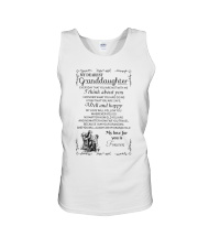 Make it the meaningful message to granddaughter Unisex Tank thumbnail