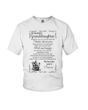 Make it the meaningful message to granddaughter Youth T-Shirt thumbnail