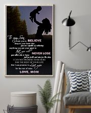 H9 Family poster - Mom to son - Never lose 11x17 Poster lifestyle-poster-1