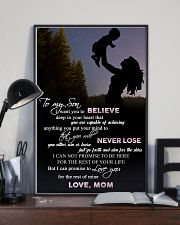 H9 Family poster - Mom to son - Never lose 11x17 Poster lifestyle-poster-2