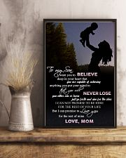 H9 Family poster - Mom to son - Never lose 11x17 Poster lifestyle-poster-3