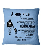 Make it the meaningful message to your son Square Pillowcase front