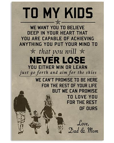 Make it the meaningful message to your kids