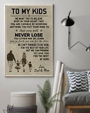 Make it the meaningful message to your kids 11x17 Poster lifestyle-poster-1