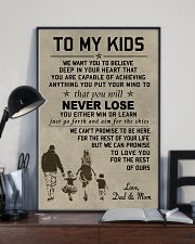 Make it the meaningful message to your kids 11x17 Poster lifestyle-poster-2