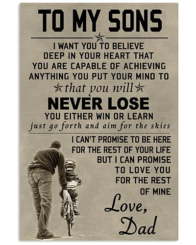 Make it the meaningful message to your sons