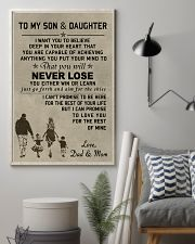 A meaningful message to your son and daughter 11x17 Poster lifestyle-poster-1