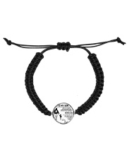 Make it the meaningful message to your son Cord Circle Bracelet thumbnail