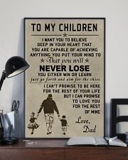 Make it the meaningful message to your children 11x17 Poster lifestyle-poster-2