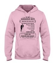 Make it the meaningful message to your wife Hooded Sweatshirt tile