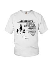 To my children ver FR Youth T-Shirt thumbnail