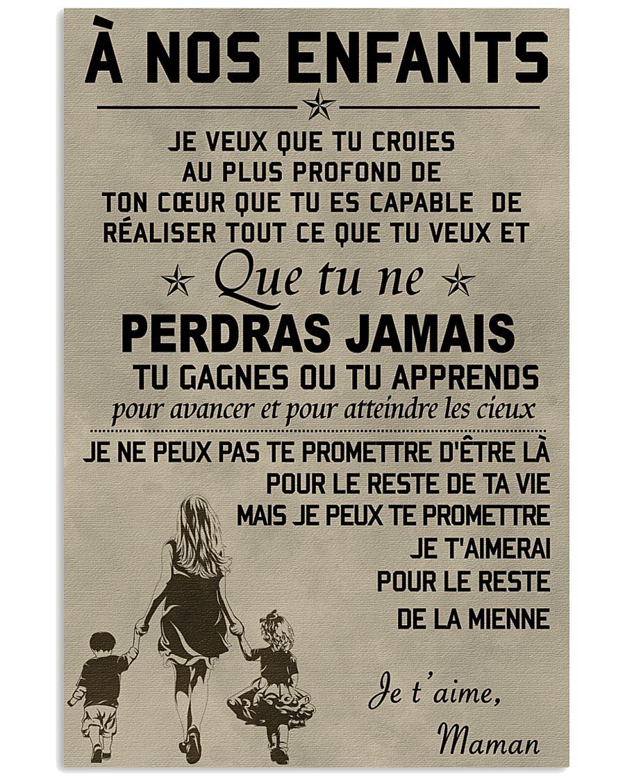 To my children ver FR 11x17 Poster