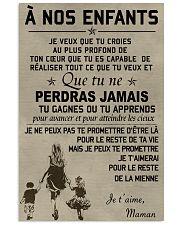 To my children ver FR Vertical Poster tile