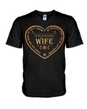 Make it the meaningful message to your wife V-Neck T-Shirt thumbnail