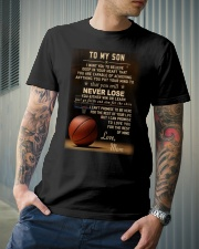 The meaningful message to your son -Basketball Premium Fit Mens Tee lifestyle-mens-crewneck-front-6