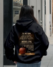 The meaningful message to your son -Basketball Hooded Sweatshirt lifestyle-unisex-hoodie-back-2