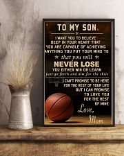 The meaningful message to your son -Basketball 24x36 Poster lifestyle-poster-3