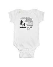 Make it the meaningful message to your daughter Onesie thumbnail