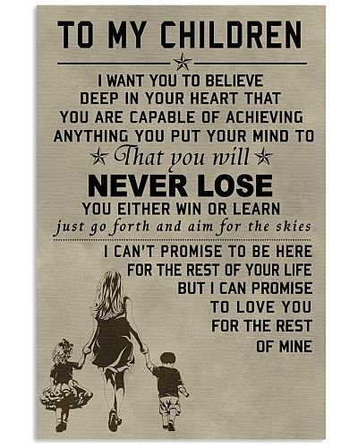 Make it the meaningful message to your child