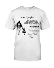 Make it the meaningful message to your daughter Premium Fit Mens Tee thumbnail