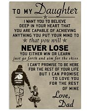 Make it the meaningful message to your daughter 16x24 Poster thumbnail