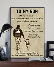 Make it the meaningful message to your son 11x17 Poster lifestyle-poster-2