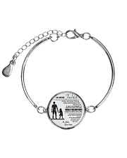 Make it the meaningful message to your daughter Metallic Circle Bracelet thumbnail