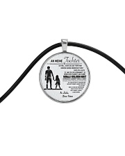 Make it the meaningful message to your daughter Cord Circle Necklace thumbnail