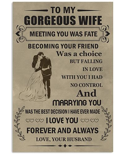 Make it the meaningful message to your wife