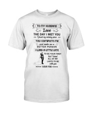 Make it the meaningful message to your husband  Classic T-Shirt thumbnail