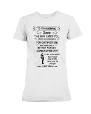 Make it the meaningful message to your husband  Premium Fit Ladies Tee thumbnail
