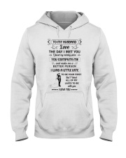 Make it the meaningful message to your husband  Hooded Sweatshirt thumbnail