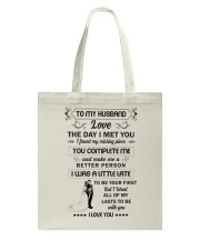 Make it the meaningful message to your husband  Tote Bag thumbnail