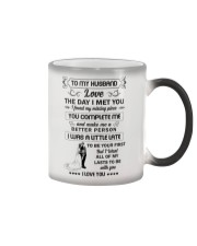Make it the meaningful message to your husband  Color Changing Mug thumbnail