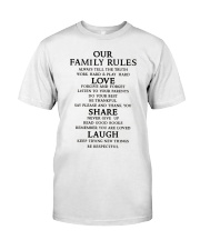 Make it the meaningful message to your family Classic T-Shirt tile