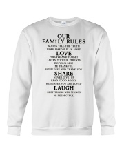Make it the meaningful message to your family Crewneck Sweatshirt thumbnail