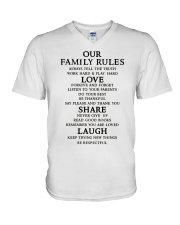 Make it the meaningful message to your family V-Neck T-Shirt tile