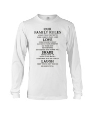 Make it the meaningful message to your family Long Sleeve Tee thumbnail