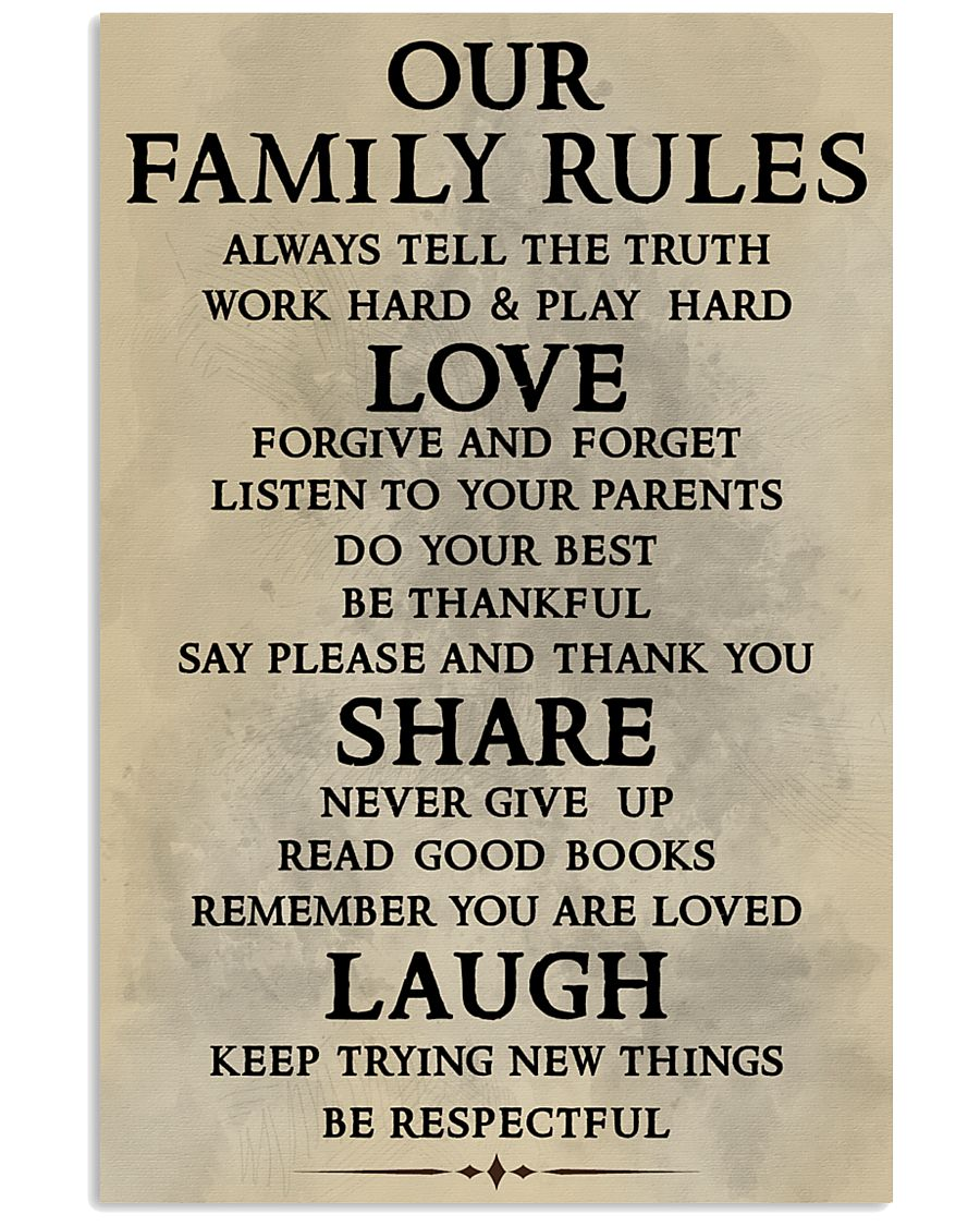 Make it the meaningful message to your family 11x17 Poster