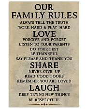Make it the meaningful message to your family Vertical Poster tile