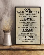 Make it the meaningful message to your family 11x17 Poster lifestyle-poster-3