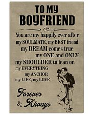 Make it the meaningful message to your boyfriend 11x17 Poster front