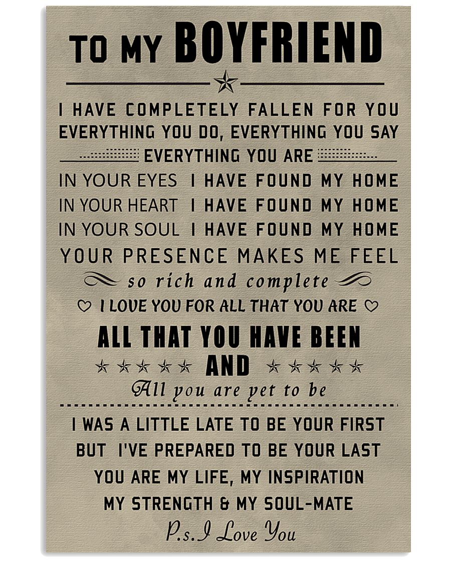 Make it the meaningful message to your boyfriend 11x17 Poster