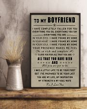 Make it the meaningful message to your boyfriend 11x17 Poster lifestyle-poster-3