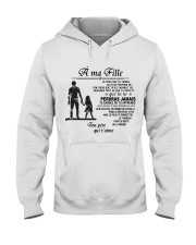 Make it the meaningful message to your dayghter Hooded Sweatshirt tile
