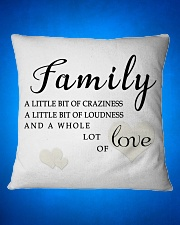 lat it show your love to your family Square Pillowcase aos-pillow-square-front-lifestyle-16
