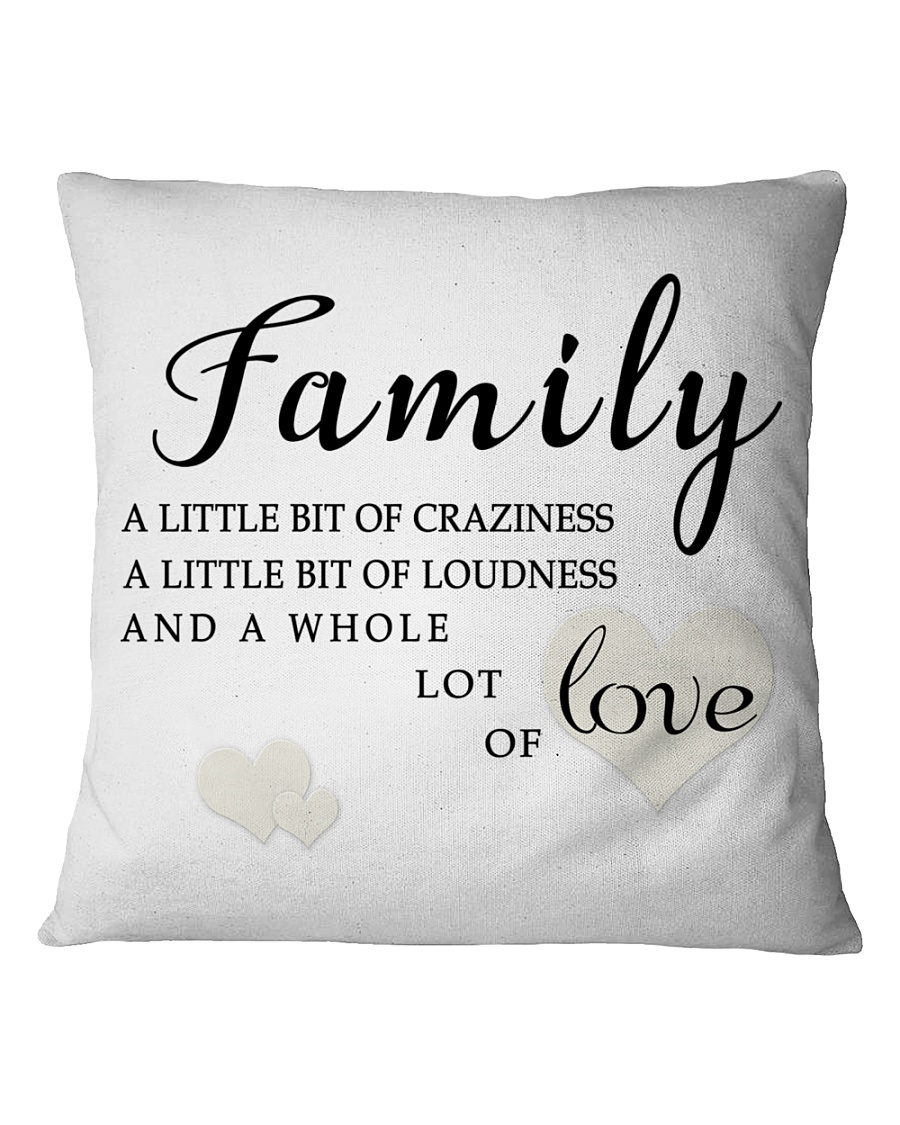 lat it show your love to your family Square Pillowcase
