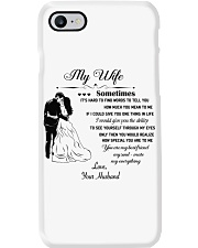 Make it the meaningful message to your wife Phone Case thumbnail