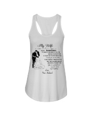 Make it the meaningful message to your wife Ladies Flowy Tank thumbnail